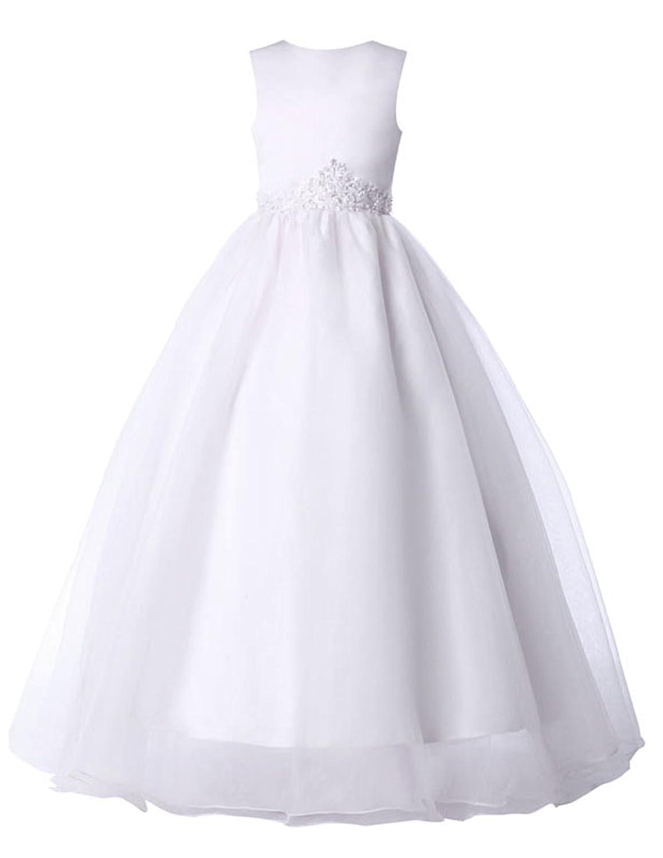 Amazon.com: GRACE KARIN Flower Girls Dress for Wedding Princess ...