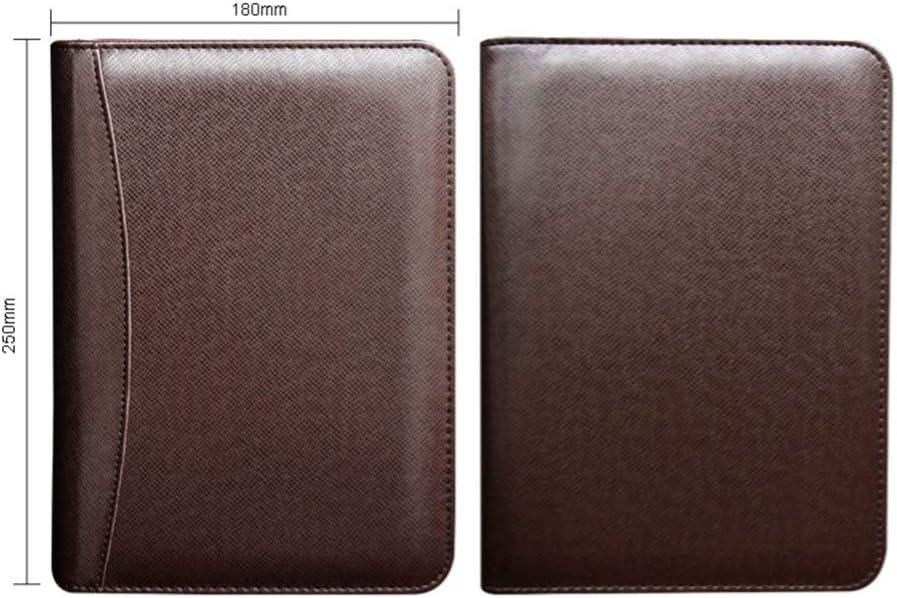 Conf/érencier de conf/érence avec calculatrice rechargeable zipp/é Format A5 a5 violet