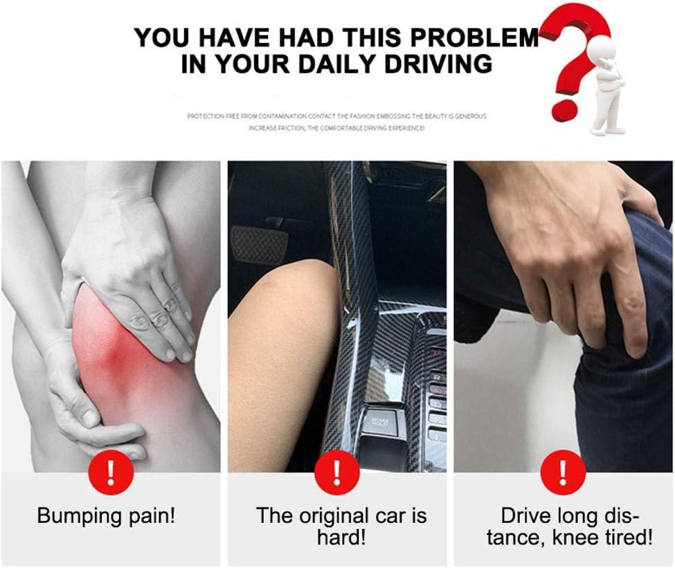 Asiento universal para autom/óvil Coj/ín para las piernas Soporte para el asiento del autom/óvil Coj/ín suave Coj/ín para las piernas de cuero Almohada Almohadilla para la rodilla Almohada de soporte