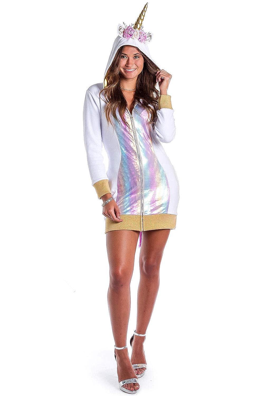 Amazon Com Women S Adult Unicorn Costume Dress Cute And Sexy