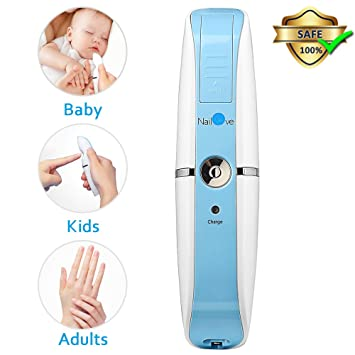 Amazon.com: Baby Nail File, Comsoon Electric Nail Clippers Automatic ...