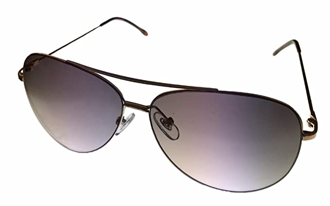 Amazon.com: Perry Ellis Mens Sunglass Gold Rimless Mens ...
