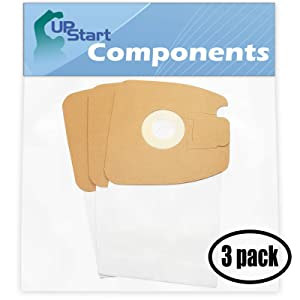 9 Replacement Eureka Mighty Mite Pet Lover 3684F Vacuum Bags - Compatible Eureka Style MM Vacuum Bags (3-Pack - 3 Vacuum Bags per Pack) - Also Compatible with Sanitaire SC3683A, SC3683, S3681, Eureka 3670G, Mighty Mite 3670G, 3684F, Style MM, 3670A