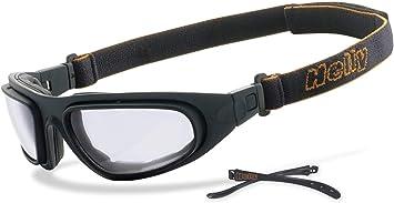 Helly No 1 Bikereyes SelbsttÖnend Motorradbrille Bikerbrille Beschlagfrei Winddicht Hlt Kunststoff Sicherheitsglas Nach Din En 166 Sportbrille Auto