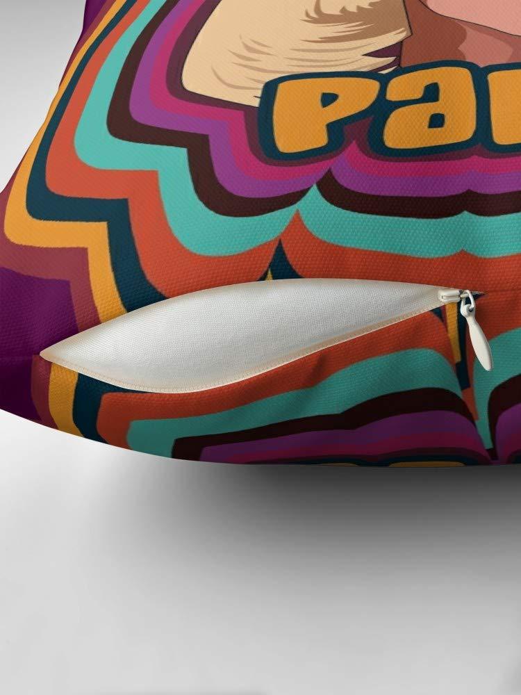 Square 18x18 Party for Sofa Couch Living Room Bed Decorative Katya Zamolodchikova