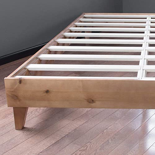 CARDINAL CREST   Wood Twin Bed Frame No Box Spring Needed   Easy Assembly Heavy Duty   Ideal Bed Frame Twin