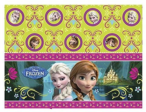 Procos S.A. 180 x 120cm Plastic Disney Frozen Table Cover