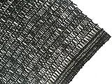 DIR 40% UV Shade Cloth Black Sunblock Shade Fabric 20ft 20ft For Sale