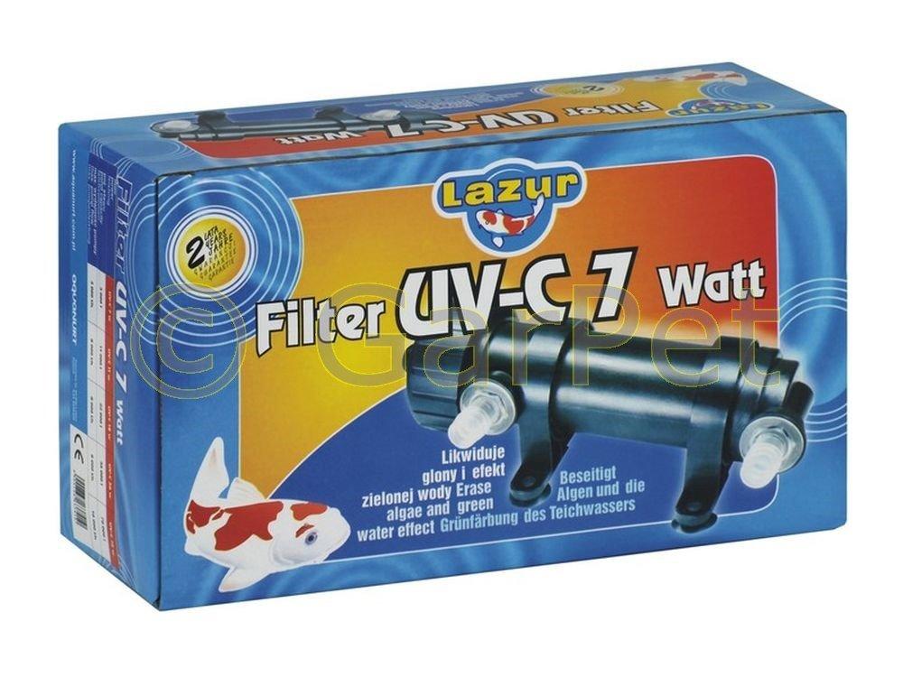 UV-C UV UVC Lampe Algenklärer Lichtfilter Teichklärer Wasserklärer Vorklärgerät Gerät 7 11 18 36 72 Watt (72 Watt)