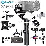 FeiyuTech G6 Plus 3軸カメラスタビライザー 生活防水機能 OLED液晶 マジックフォーカスリング付き 800gのカメラにマルチ対応 WIFI接続 (スマホホルダー & スマホアダプター & ミニ三脚付 )並行輸入品
