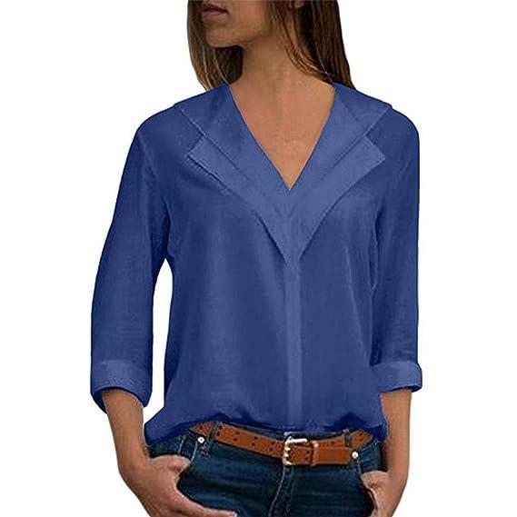 Blusas de moda azul marino