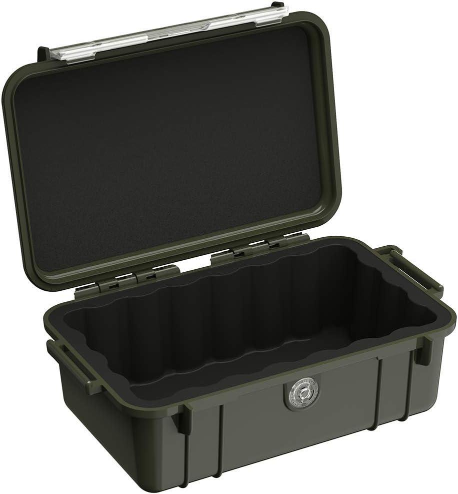 Peli micro case 1050 negro negro uso outdoorkoffer foto maleta nuevo
