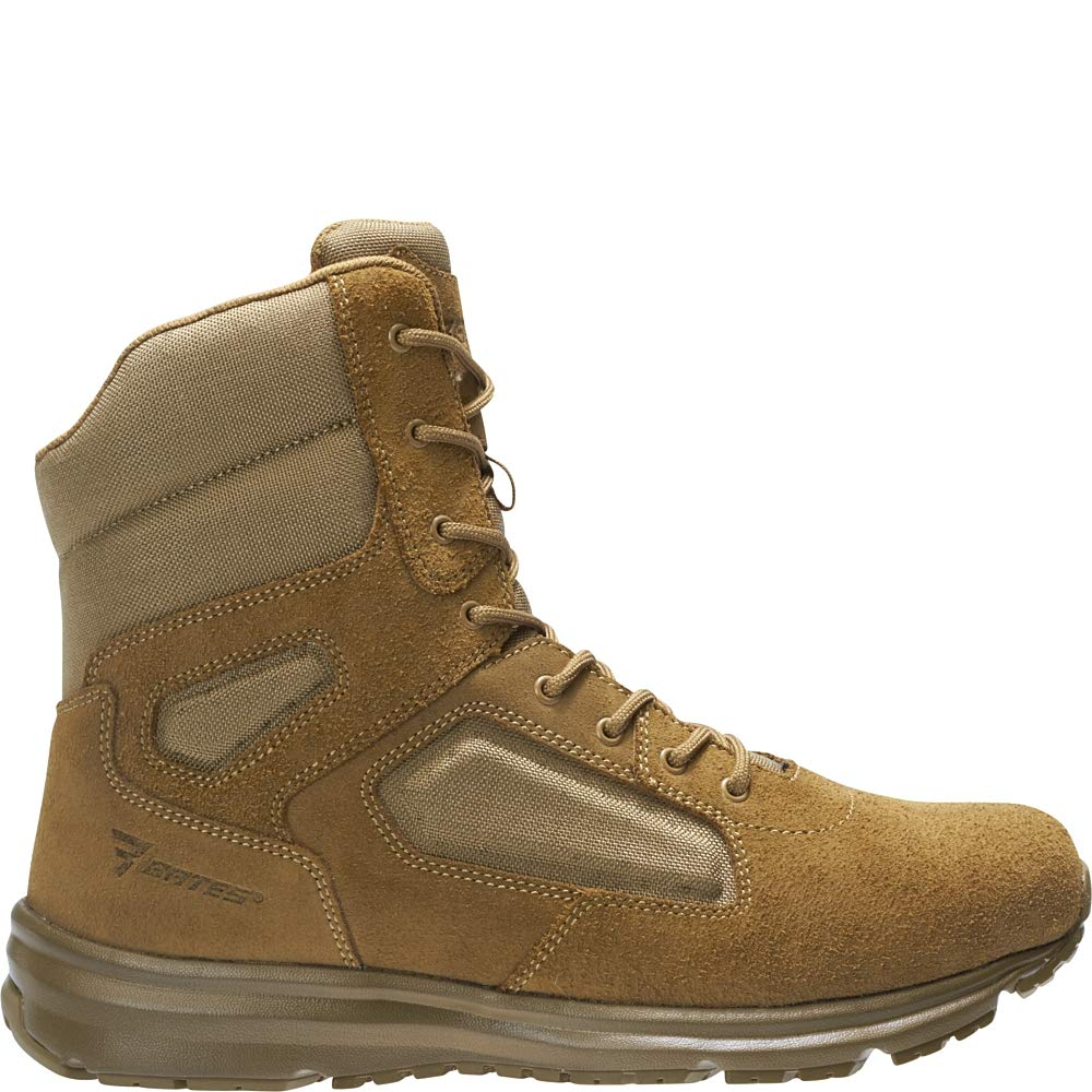 Bates Men's Raide Hot Weather Fire and Safety Boot, Coyote, 11.5 Extra Wide US by Bates