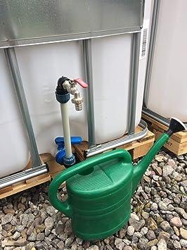 shkv 25mk34 Cuello de cisne Conexión de contenedor IBC accesorio de jardín de barril de tanque