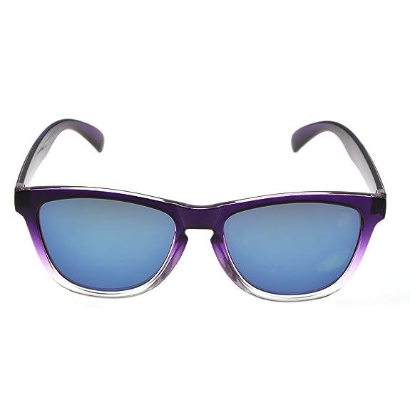 Amazon.com: NuVur G032|Men\'s & Women\'s Clear Plastic Frame Mirrored ...
