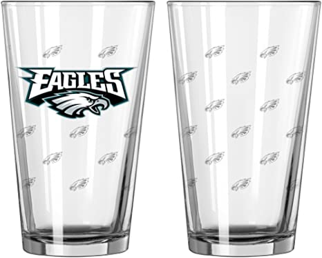 Elite Collectible Shot Glass 2 Pack Boelter Brand Philadelphia Eagles 2 Oz