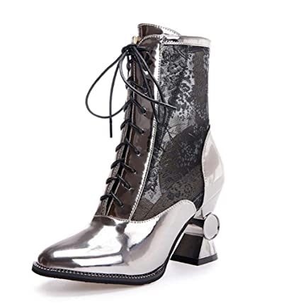 7162300d1ba8 Women s Boots Spring Summer Fall Comfort Gladiator Club Shoes Tulle PU  Wedding Casual Party   Evening