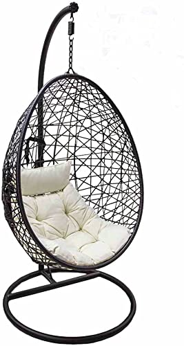 Rattan Hanging Egg Chair | Swing Seat Chair For Gardens, Patio