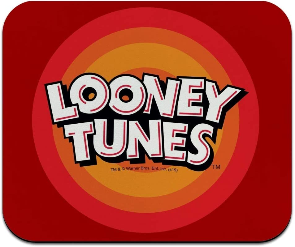 Looney Tunes Logo Low Profile Thin Mouse Pad Mousepad