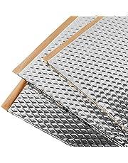 Noico 2 mm 3,4 mètres carrés Tapis d'isolation acoustique en butyle pour voitures, isolation acoustique de bruit et insonorisation