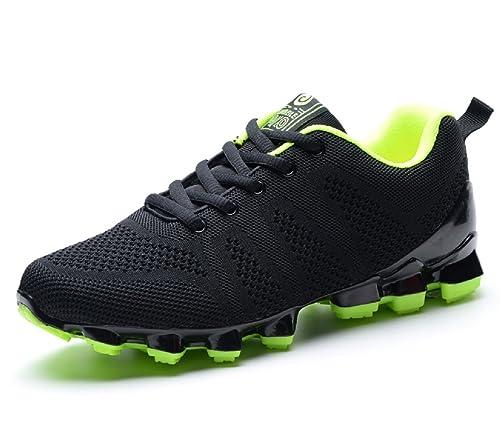 8edbe3c72e5c Mens Sports Shoes Non-Slip Shock Absorption Wearable Running Hiking Casual  Sneakers Training Shoe 2017