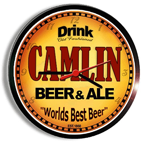 CAMLIN beer and ale cerveza wall clock