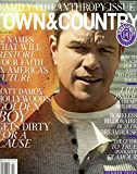 Town & Country Magazine (June/July, 2016) Matt Damon Cover