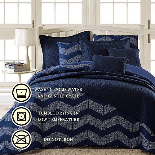 Comfy Bedding Spot Chevron Microfiber Comforter Sets