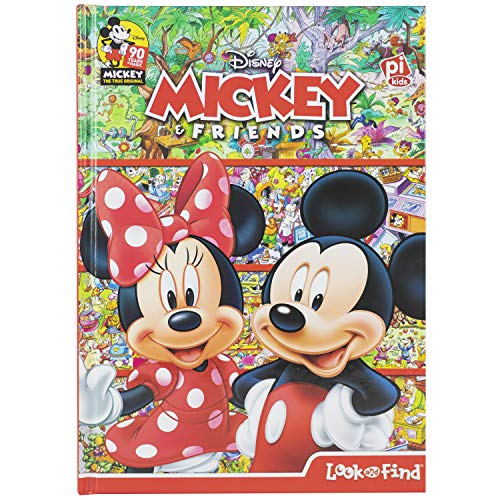 Disney - Mickey Mouse and Minnie Mouse Look and Find - PI Kids ()