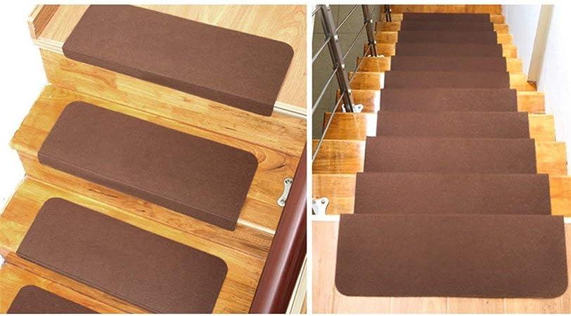 Ericcay Alfombras Escalonadas De 5 Niveles Escaleras Rectangulares Ruschfest (Marrón) único Elegante Decoración Rústica para El Hogar Retro Alfombra Antideslizante (Color : Braun, Size : Size): Amazon.es: Hogar