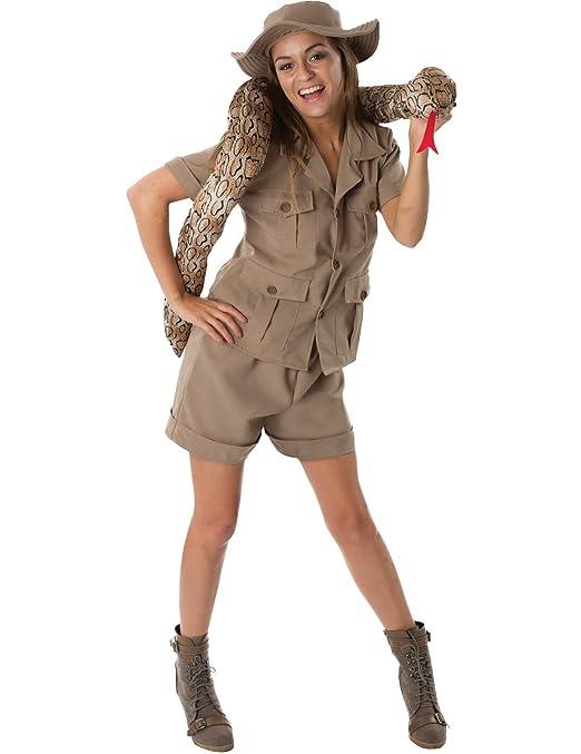 Ladies british jungle safari girl suit animal fancy dress costume ladies british jungle safari girl suit animal fancy dress costume small amazon toys games solutioingenieria Images