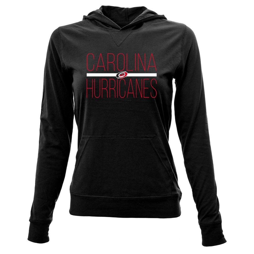 Levelwear LEY9R リカバリ―ライン Em Upプルオーバーフード付きミッドレイヤー B074PK176N Large|ブラック|Carolina Hurricanes ブラック Large
