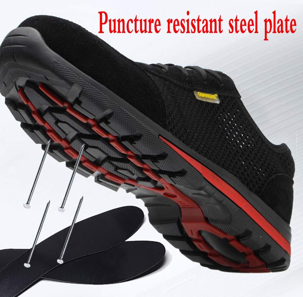 Arbeitsschutzschuhe für für für Herren Stahlkappe perforiert Outdoor-Freizeitschuhe Leichtgewicht c40474