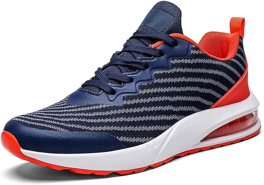 Zapatillas Deportivas de Hombre Deportivos Zapatillas Deporte Blancas Hombre Gimnasia Ligero Sneakers Malla Trekking Zapatos Casual de Hombre: Amazon.es: Zapatos y complementos