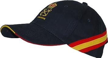 Gorra Bandera España Patrón de Embarcación de Recreo (per) + 2 Antiviento