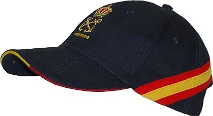 Gorra Bandera España Patrón de Embarcación de Recreo (per) + 2 Antiviento: Amazon.es: Hogar