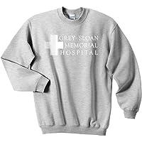 Mars NY Unisex Grey Sloan Memorial Hospital Sweatshirt