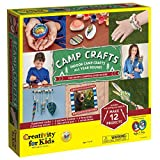 Creativity for Kids Camp Crafts - Create 12 Classic Arts and Craft Projects