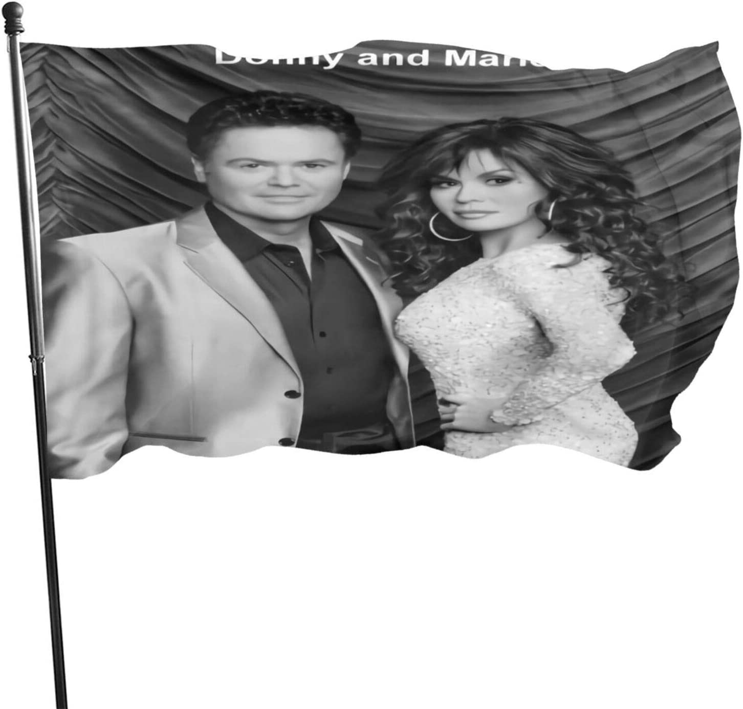 Alsdhsagd56 Unisex Donny and Marie Osmond Poster 3x5 Feet Flag One Size