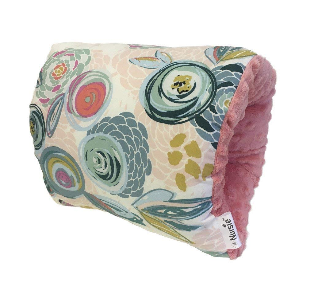 The Nursie Slip-on Breastfeeding Arm Pillow |Travel Breastfeeding Pillow | Baby Shower Gift | Arm Cushion for Nursing or Bottle Feedng | Best Breastfeeding Pillow | Arm Pillow for Nursing Baby(Skyler) FMTY001