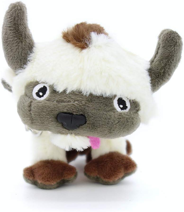 GRTLPOK Set Soft Stuffed Animals Appa Avatar Keychain 7''(19 cm) Toys for Kids Christmas New Year Gift Birthday Gifts (4.Appa Keychain)