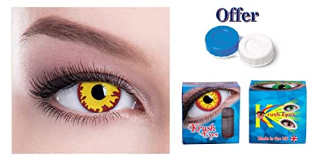 buy krush anakin sith crazy glamour eyes contact lenses with case