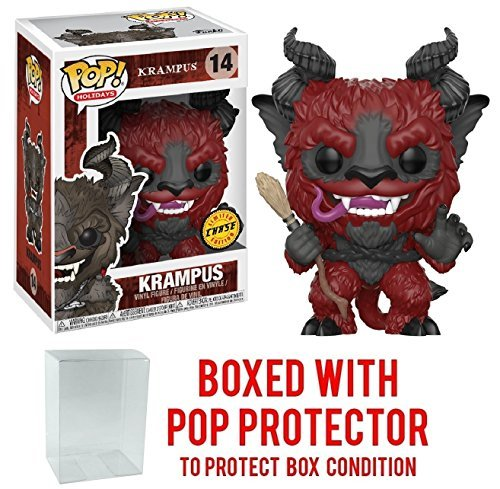 Funko Pop! Holidays - Krampus Chase Limited Edition Vinyl Figure (Bundled with Pop BOX PROTECTOR CASE)