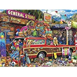 Buffalo Games-Aimee Stewart-Family Vacation-1000 Piece Jigsaw Puzzle