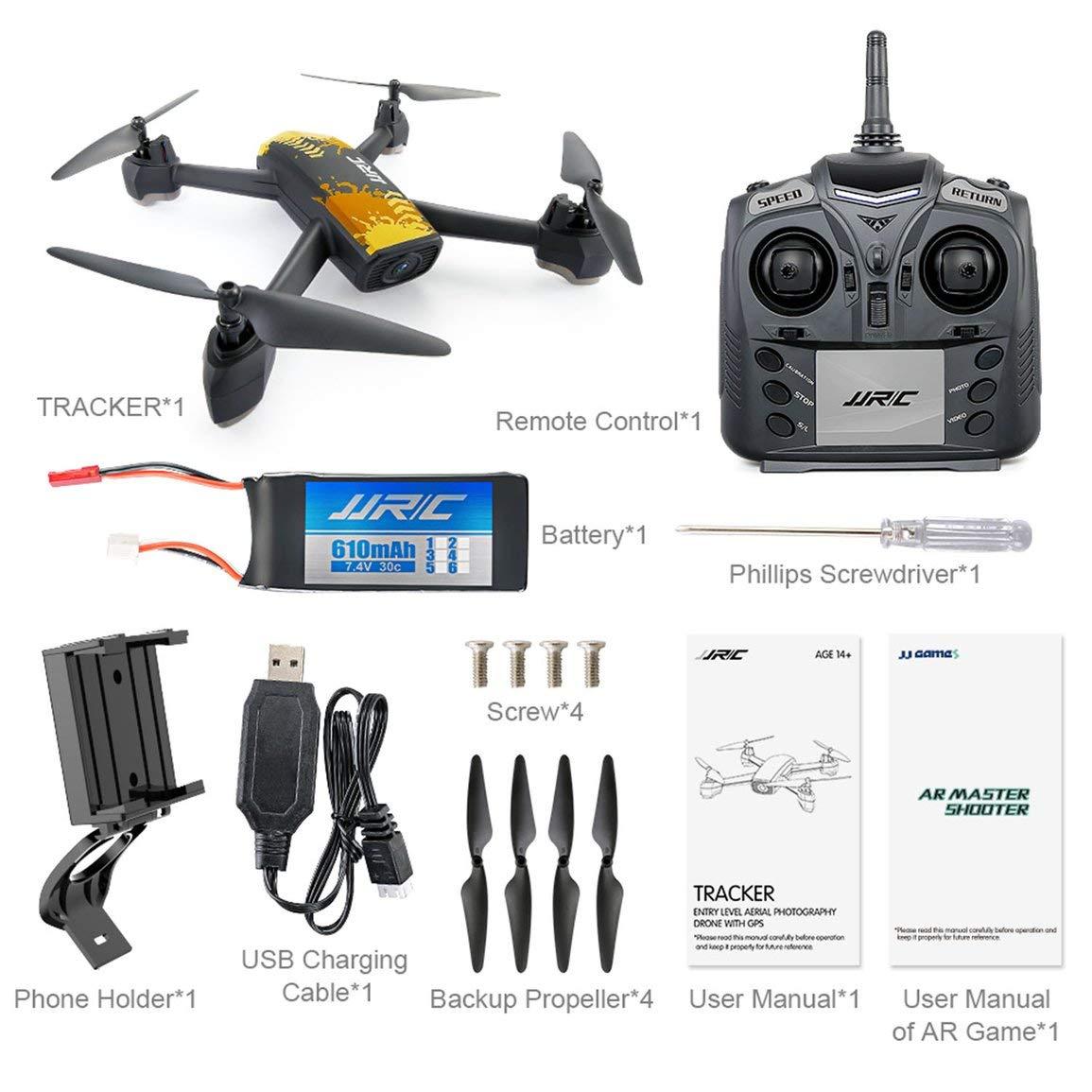 Fantasyworld JJR / C JJRC H55 Professionelle RC Drone Quadcopter Ersatzteile WiFi GPS Hubschrauber RC Drone mit 720p-Kamera