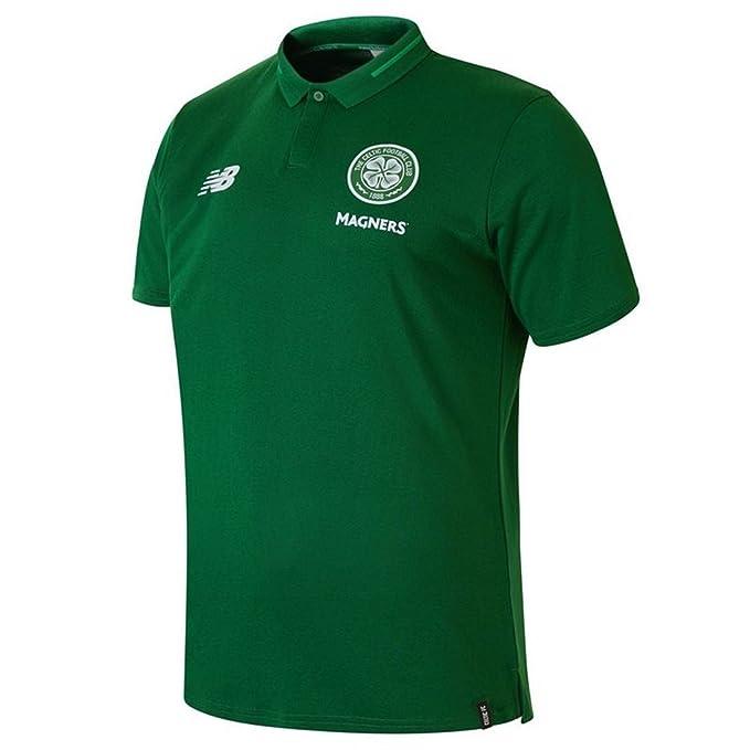 New Balance 2018/19 - Polo Celtic FC Junior Leisure Elite: Amazon ...