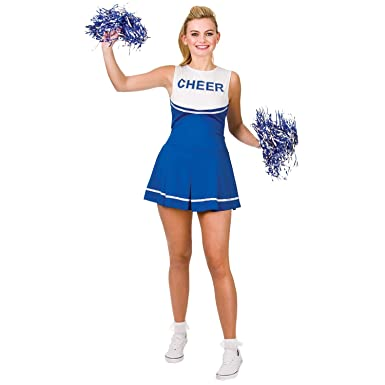 VADOOLL Damen High School Cheerleader Abend Dress Up Party Halloween ...