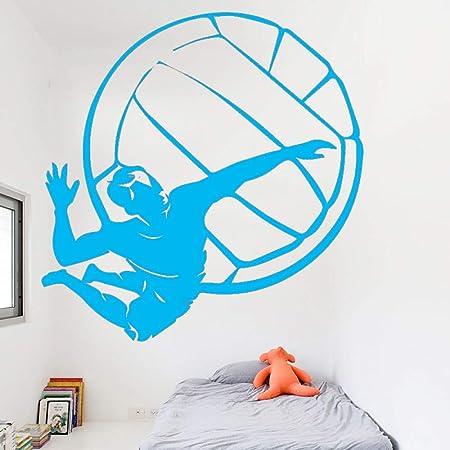 xingbuxin Etiqueta de la Pared del Jugador de Voleibol para niños ...