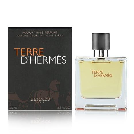 Buy Hermes Terre D For Men Parfum Spray 25 Oz 75 Ml Online At