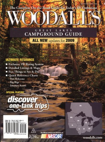 Read Online Woodall's Great Lakes Campground Guide, 2009 PDF